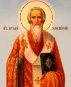 Рукописная икона Артемий Селевкийский