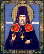 Рукописная икона Варлаам Белогорский