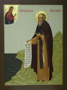 Рукописная икона Варлаам Керетский