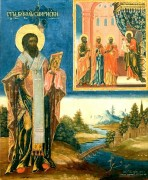 Рукописная икона Вукол Смирнский