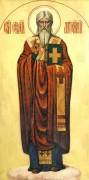 Рукописная икона Евстафий Антиохийский