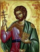 Рукописная икона Емилиан Доростольский