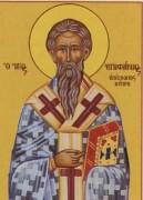 Рукописная икона Епифаний Кипрский