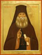 Рукописная икона Иларион Оптинский
