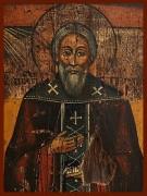 Рукописная икона Иеремия Печерский