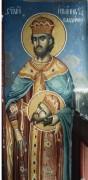 Рукописная икона Иоанн-Владимир Сербский