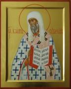 Рукописная икона Иоанн Суздальский