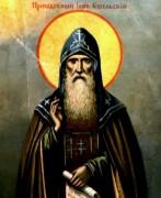 Рукописная икона Иов Ущельский