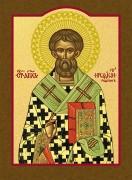 Рукописная икона Иродион