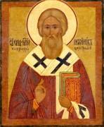 Рукописная икона Каллиник Константинопольский