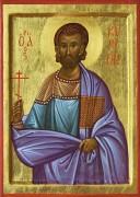 Рукописная икона Кирион Севастийский