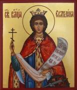 Рукописная икона Екатерина Александрийская великомученица
