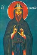Рукописная икона Лука Елладский