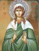 Рукописная икона Минодора