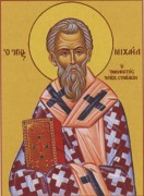 Рукописная икона Михаил Синадский