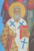 Рукописная икона Никодим Костромской
