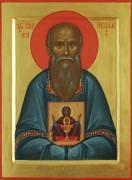 Рукописная икона Николай Власьевский