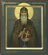 Рукописная икона Никон Печерский