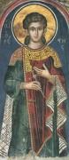 Рукописная икона Орест Севастийский