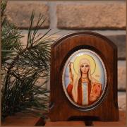 Икона из финифти Святая Нина (Размер 11*14 см)