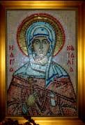 Икона из мозаики Наталия Никомидийская