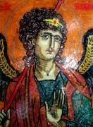Икона из мозаики Архангел Гавриил