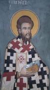 Рукописная икона Патров Неаполитанский