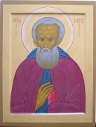 Рукописная икона Петр Ордынский