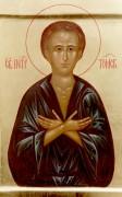 Рукописная икона Петр Томский