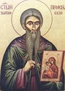Рукописная икона Пимен Зографский