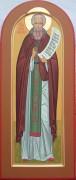Рукописная икона Савва Вишерский