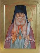 Рукописная икона Серафим Богучарский