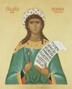 Рукописная икона Серафима Римская