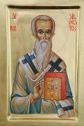 Рукописная икона Сильвестр Римский