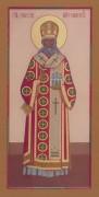 Рукописная икона Симеон Смоленский