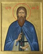 Рукописная икона Трифон Вятский