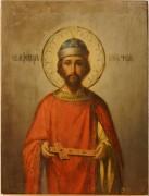 Рукописная икона Феодор Черниговский