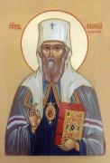 Рукописная икона Филофей Тобольский