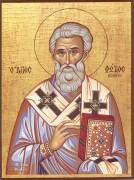 Рукописная икона Фотий Константинопольский