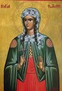 Рукописная икона Фотина Самаряныня