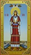 Рукописная икона Злата