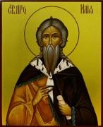 Рукописная икона Илия (Илья) Пророк
