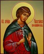 Рукописная икона Христина Кесарийская