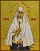 Рукописная икона Елизавета Федоровна княгиня