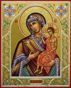 Рукописная икона Божией Матери Воспитание