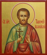 Рукописная икона Тимофей Палестинский Кесарийский