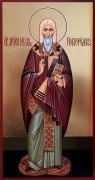 Рукописная икона Иоанн Новгородский