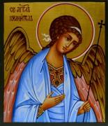 Рукописная икона Ангел Хранитель для ребенка 4