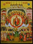 Рукописная икона О Тебе Радуется