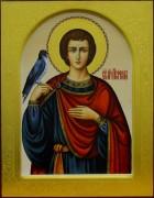 Рукописная икона Трифон мученик 2